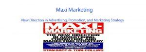 مدل ماکسی مارکتینگ