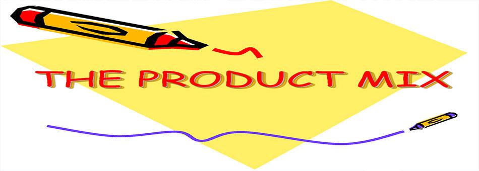 بازاریابی و فروش آمیخته محصول