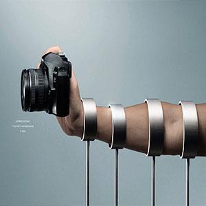 تبلیغات خلاق دوربین نیکون