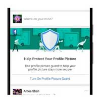 پروژه حفاظت فیس بوک از عکس های پروفایل