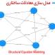 مدل سازی معادلات سارختاری