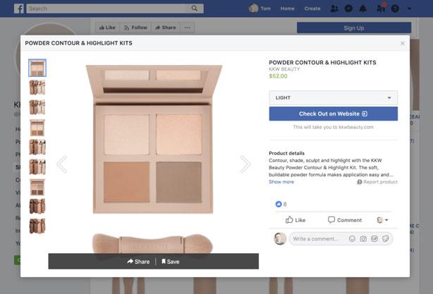 اضافه کردن کاتالوگ محصولات به فروشگاه فیس بوک